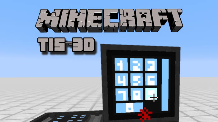 TIS-3D Mod for Minecraft 1.14/1.12.2/1.10.2