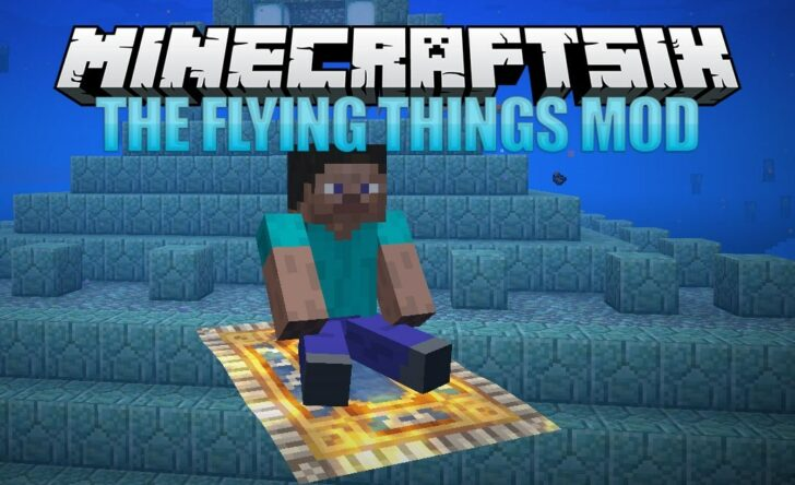 The Flying Things Mod for Minecraft 1.14.4/1.13.2/1.12.2 (Enchanted Broom and Flying Carpet)