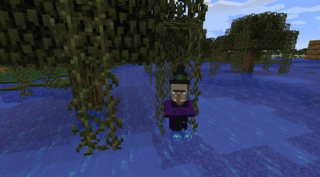 Witch Hut in the Swamp Seed for Minecraft 1.8.0/1.7.10