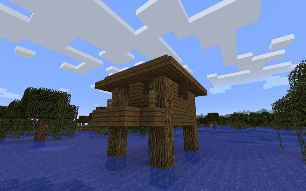 Witch Hut in the Swamp Seed Screenshot 2