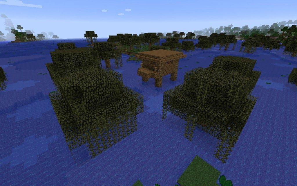 Witch Hut in the Swamp Seed Screenshot 4