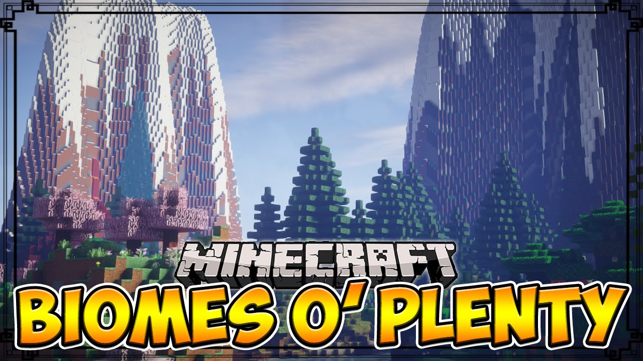 Biomes O' Plenty Mod for Minecraft