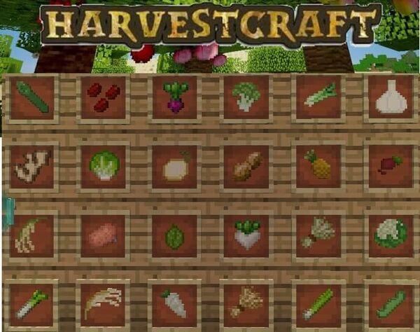 HarvestCraft Mod for Minecraft 1.12.2/1.7.10/1.5.2