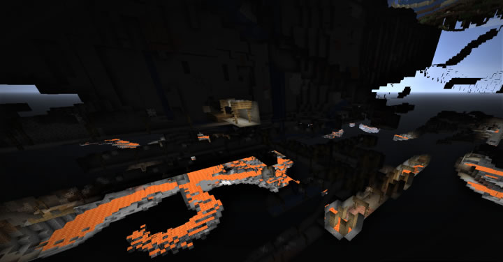 Huge Abandoned Mine Seed for Minecraft 1.14.4