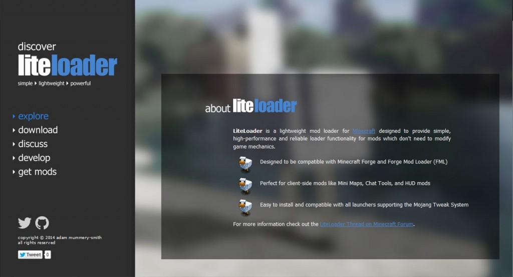 LiteLoader for Minecraft 1.12.2/1.7.10