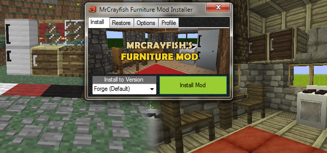 MrCrayfish's Furniture Mod Install