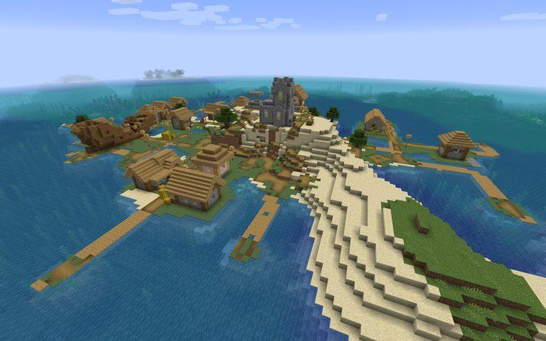 Sunken Ship in the Village Seed Screenshot 2