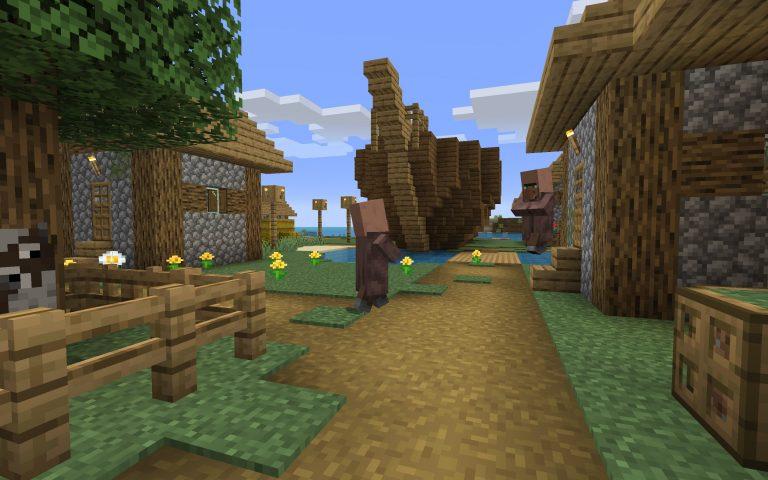 Sunken Ship in the Village Seed Screenshot 3