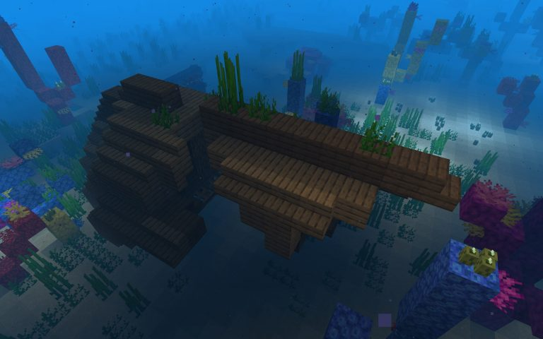 Sunken Ship in the Village Seed Screenshot 4