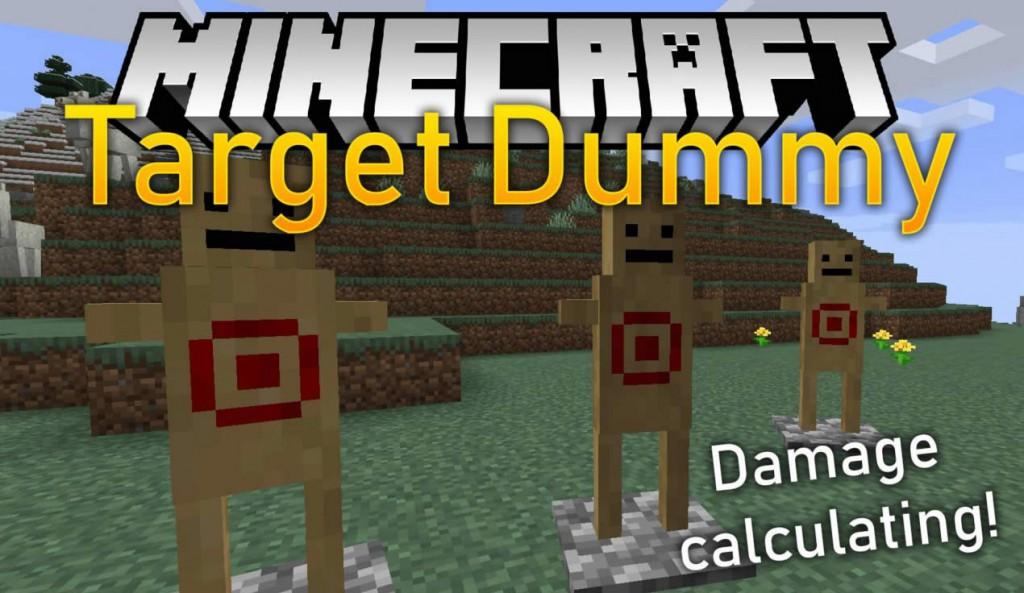Download Target Dummy Minecraft Mod 1.14.4 (Battle Training)