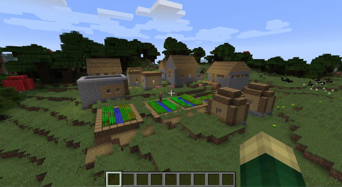 Updated Village [A Fresh Start] Minecraft 1.14.4/1.10 Seed