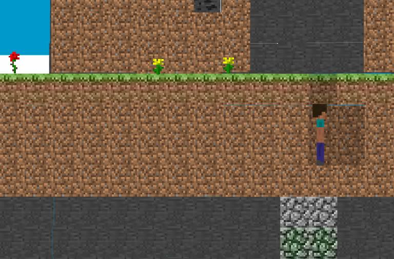 Minecraft in 2D