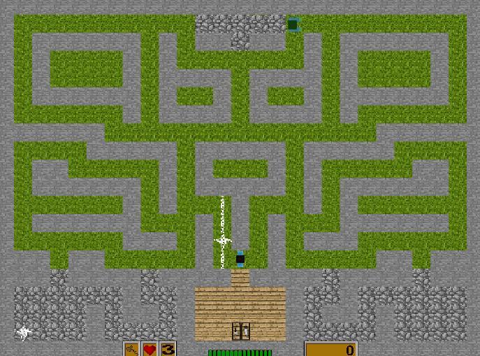 Miner in War Game Screenshot