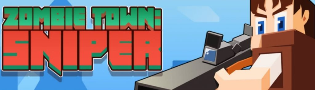Minecraft Zombie Town Sniper