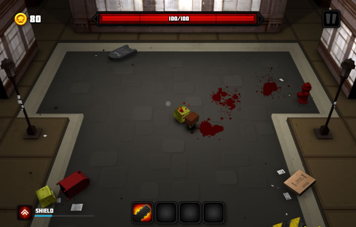 Chainsaw Slasher Game Screenshot