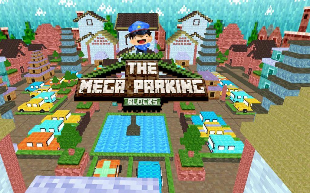Minecraft Mega Parking Blocks