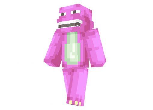 Barney skin for Minecraft
