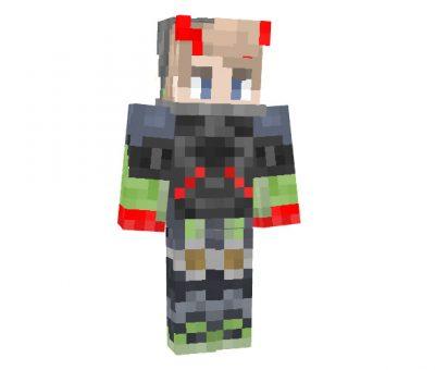 DanHosaur Minecraft Halloween Skin
