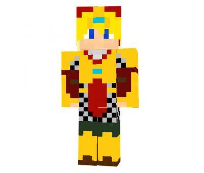 Magic Tunic Minecraft Skin for Boys 64x32