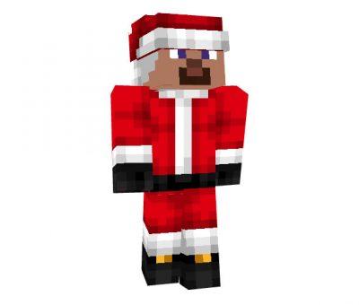 Santa Christmas skin for Minecraft
