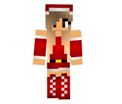 Snowman_99 - Girl Christmas skin for Minecraft