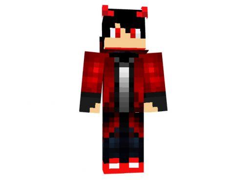 iDemon_ Halloween skin for Minecraft