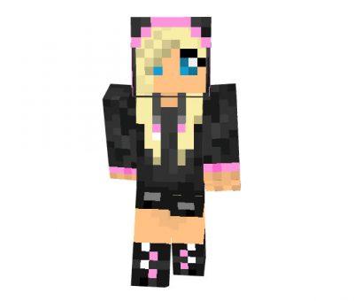 1D fan Skin for Minecraft