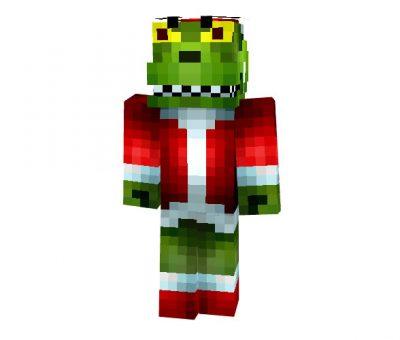 ASTG2ds - Christmas Crocodile Skin for Minecraft