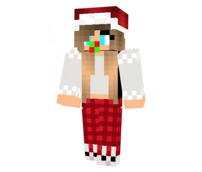Alixandra - Christmas Skins for Minecraft