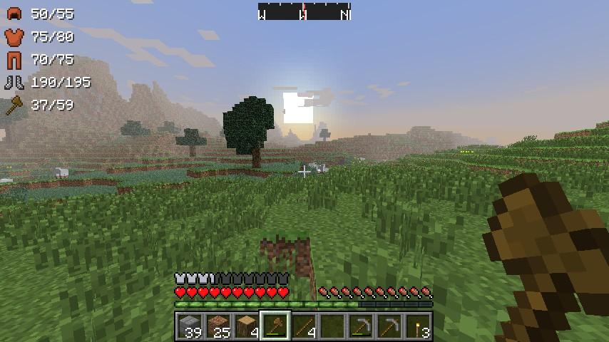 ArmorStatusHUD Mod Screenshot