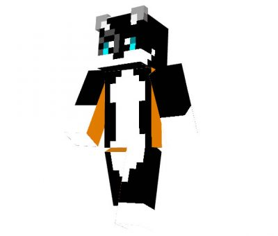 Black Cat Skin for Minecraft
