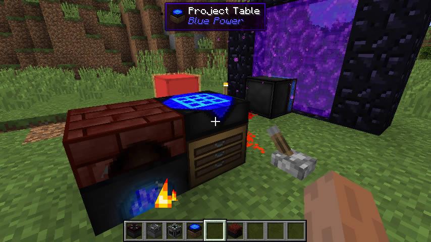 Blue Power Mod Screenshot