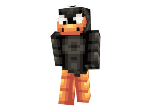Daffy Duck - Skin for Minecraft