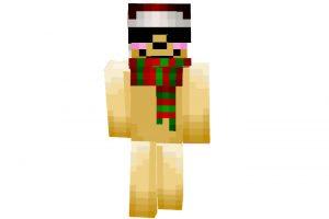 DiamondKnive - Minecraft Christmas Skin for Boy