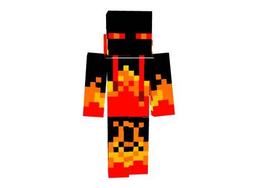Ender Flame Minecraft Skin