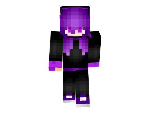 Ender Girl Skin for Minecraft