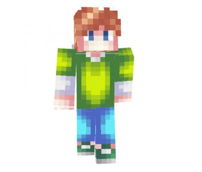 Minecraft Skin For Rain [64x64]
