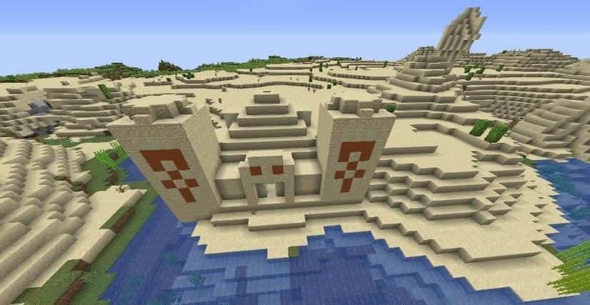 Forge and Diamonds Village Seed 1.14.4 Screenshot