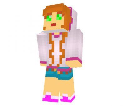 Hoody Girl Minecraft Skins