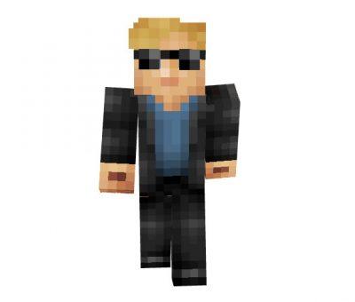 Horatio Caine Minecraft Skin