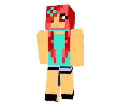 Hot Girl Minecraft Skin