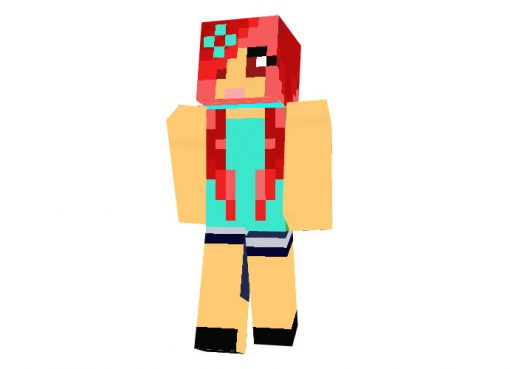 Hot Girl Minecraft Skin
