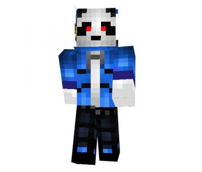 Italy Panda Minecraft Skin