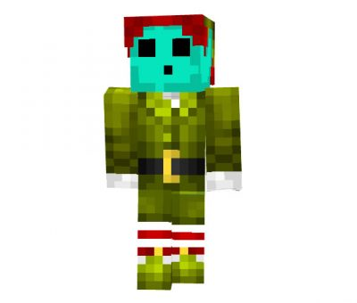 Lazercorn - Boy Minecraft Christmas Skin