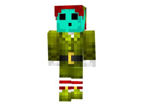 Lazercorn - Boy Minecraft Christmas Skin