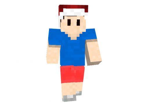 LeDoener - Minecraft Christmas Skin for Boys