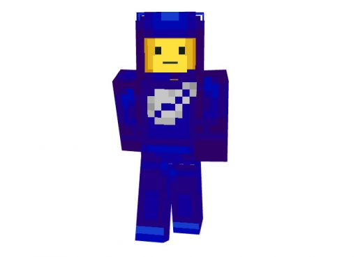 Lego Space Guy Skin for Minecraft