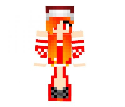 LoK_228 - Girl Minecraft Christmas Skin