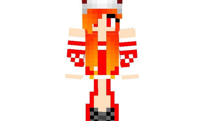 LoK_228 - Girl Minecraft Christmas Skin