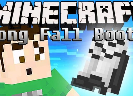 Long Fall Boots Mod for Minecraft